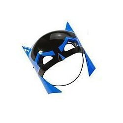Batman The Brave and The Bold: Cowl / Mask Role Play Accessory (Blue Batman Cowl compare prices)