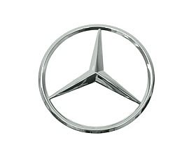 Mercedes w163 ml grille center star emblem for Mercedes benz star logo
