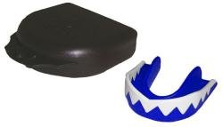 GILBERT Accessories Razor Mouthguard , Blue/White, Junior