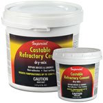 Castable Refractory Clay Kk0062 For Fire Box Stove Pizza Oven 12 Lb Tub