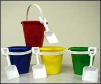 Pail And Shovel Sets-5 Inch