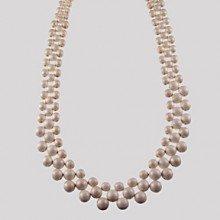 Origin Jewelry 36 Inch White Strand Necklace