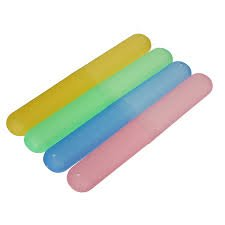 Tooth Brush Holder Tube Cap Cover Protect Case Box 4 pcs