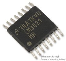 Texas Instruments Lm3421Mh/Nopb Ic Led Driver Buck-Boost/Flyback Tssop16 (5 Pieces)