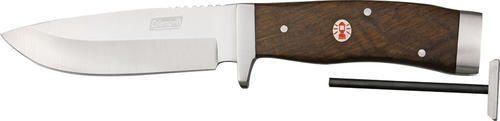 Coleman Campfire Natural Wood Fixed Blade Knife (Large)