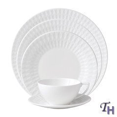jasper-conran-china-diamond-embossed-5-pc-place-settings-by-jasper-conran-china