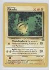 Pokemon - Pikachu (Pokemon TCG Card) 1999-2002 Pokemon Wizards of the Coast Exclusive Black Star Promos #27 - 1