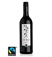 Six Hats Fairtrade Shiraz 2013 - Case of 6