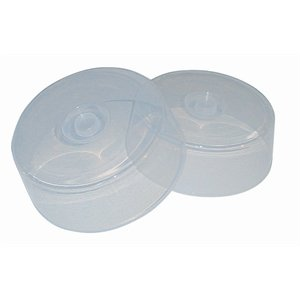 Microwave & Freezer Proof Plate Covers 110(H)X 300(Ø)Mm. Pack Quantity 2.