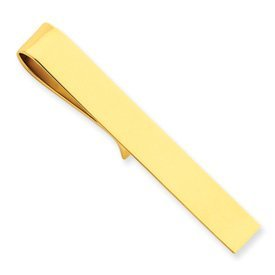 14k Yellow Gold Tie Bar in Gift Box