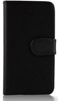 iPhone 5, 5s & itouch 5G PU Leather wallet case (Black) image