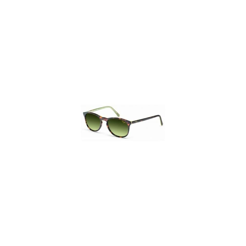 Maui Jim Sunglasses   Pau Hana / Frame Dark Tortoise with Green Lens Maui HT Polarized