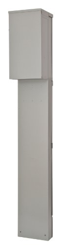 Siemens TL137UP Talon Temporary Power Outlet Panel Pedestal with a 20, 30, and 50-Amp Receptacle Installed, Unmetered