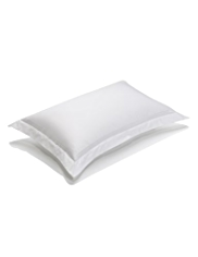 Autograph Plain Dye Sateen Oxford Pillowcase