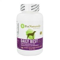 Daily Best Complete Multi Vitamin/Mineral For Dogs Pet Naturals Of Vermont 180