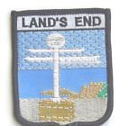 LANDS END ENGLAND FLAG WORLD EMBROIDERED PATCH BADGE