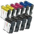 Brother Compatible LC51 Bulk Set of 10 Ink Cartridges: