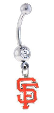San Francisco Giants MLB Sexy Belly Navel Ring at Amazon.com