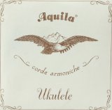 AQUILA Ukulele Strings, Concert Regular, CRC, All Nylgut, 7U, Regular, High G