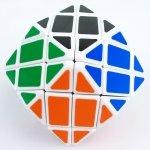 Rhombic ドデカヘドロン ルービックキューブ ホワイト