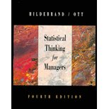 Statistical Thinking for Managers - Textbook Only (0003964094) by David K. Hildebrand