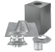 Dura-Vent 4PVP-KVB PelletVent Pro Vertical Cathedral Ceiling Venting Kit (Through Ceiling Chimney Kit compare prices)