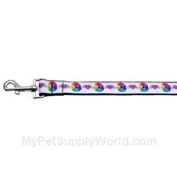 mirage-technicolor-love-ruban-collier-pour-chien-en-nylon-avec-laisse
