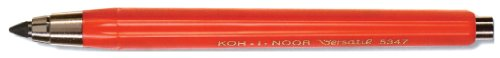 Koh-I-Noor Red Plastic Lead Holder, Metal Fittings Without Sharpener 5347