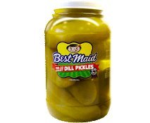 Best Maid Dill Pickles, 18-22 ct, 128 oz (Del Dixie Pickles compare prices)