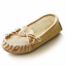 Justladybug Mocassino Pantofole per Donna. Fatto a mano, Lusso, Camoscio Genuino. Estremamente Confortevoli e Pantofole calde. 100% Foderate in Camoscio Genuino, 100% Lana. Suola rigida. Prodotto in Inghilterra.