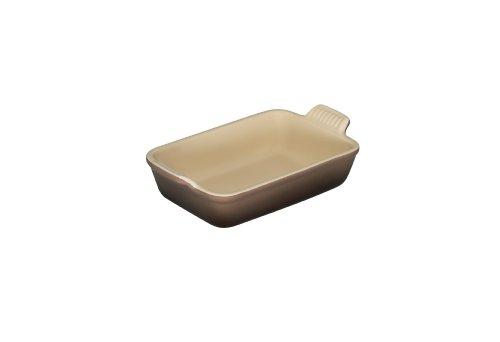 Le Creuset 91004719222100 Steinzeug Auflaufform 1,08 l,  24x19 cm, Erdfarben