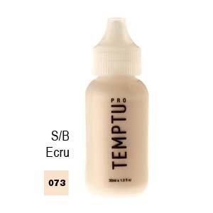 Temptu Pro S/B Airbrush Makeup 1 Ounce Bottle Of Ecru Color (#073)