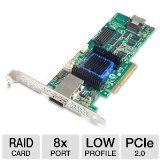 Adaptec 2270200-R 2 Port 6Gbps 8-Lane PCI-E SAS/SATA RAID Adapter