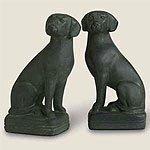 Black Labrador Retriever Bookends