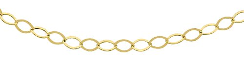 Bijoux pour tous - Catenina, Oro giallo 375/1000, Unisex
