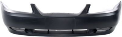 Evan-Fischer EVA17872024268 Bumper Cover Front Facial Plastic Primered With provisions for grille and license plate air holes
