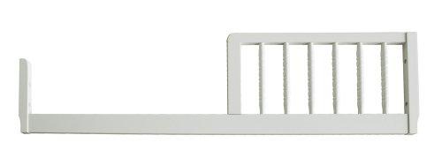 Davinci Jenny Lind Toddler Bed Conversion Kit- White front-1000446