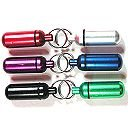 Small Pill/ID Holder Keychain (Set of 6)