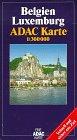 ADAC Karte, Belgien, Luxemburg, Stra�...