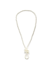 M&S Collection Pearl Effect Long Rope Necklace