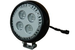 Vehicle Mount Led Light - 40 Watts - 3600 Lumen - 9-46Vdc - Milspec 461 (-Ir940-Spot)