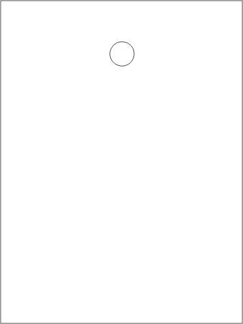 Étiquettes en carton (3000 étiquettes blanches en carton 35 x 45 mm