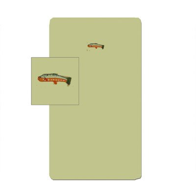 Patch Magic 30-Inch by 50-Inch Fly Fishing Sheet Set Crib