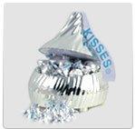 Hershey Kiss Singing Candy Dish