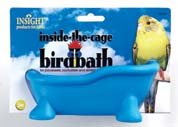 Insight Inside-the-cage Birdbath