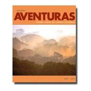 Aventuras 3rd Ed loose-leaf textbook w/ Supersite, WebSAM and vText Code