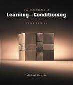 The Essentials of Conditioning and Learning: 3rd Edition