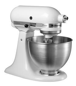 The KitchenAid Classic Series tilt-head stand mixer