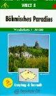 Carte de randonn�e : B�hmisches Paradies