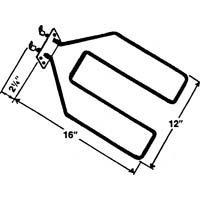 Ge Part Number Wb44X5074 Broil Unit 208/240V L O front-104020